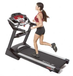 With pre-programmed workouts and a wireless heart rate monitor, the Sole F80 Treadmill will give you a great workout.